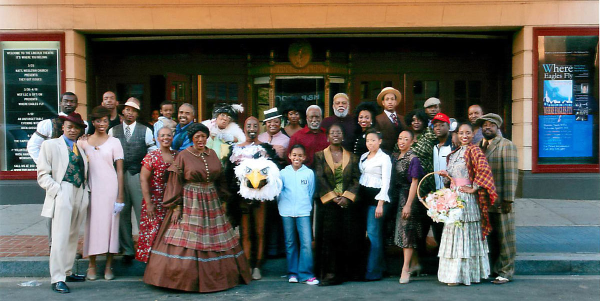 "Cast of ""Where Eagles Fly"""